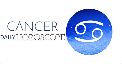 cancer daily horoscope today 2017