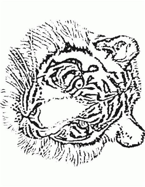 tiger mandala coloring page free coloring pages of mandala tiger