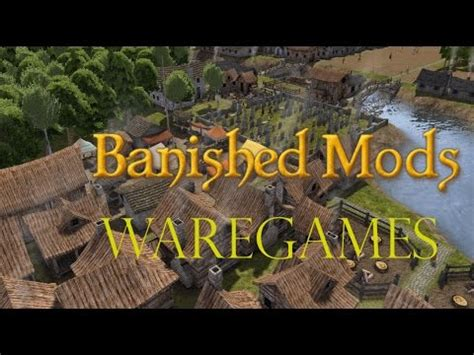banished game fountain mod banished the fountain mod youtube