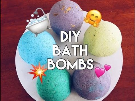 diy bath bombs without citric acid and easy diy bath bombs bath bomb recipes to make at
