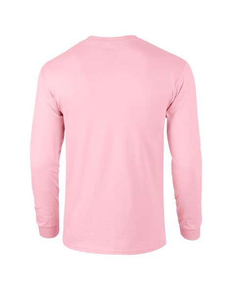 light pink t shirt gildan unisex ultra cotton long sleeve t shirt