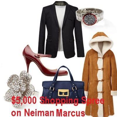 Neiman Marcus Sweepstakes - win 5 000 neimanmarcus com shopping spree sweepstakesbible