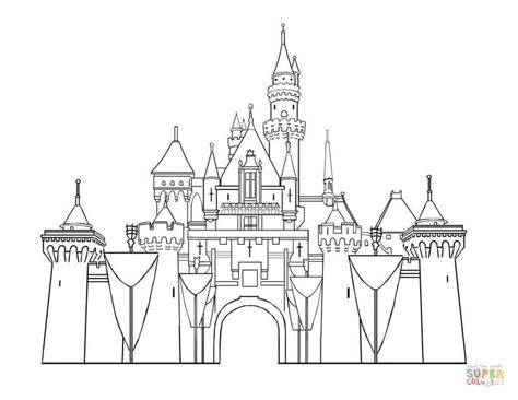 disney world castle coloring page coloring home disney world castle coloring page coloring home