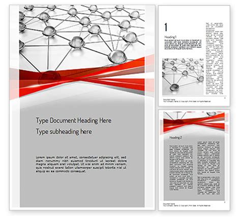 network infrastructure powerpoint template backgrounds