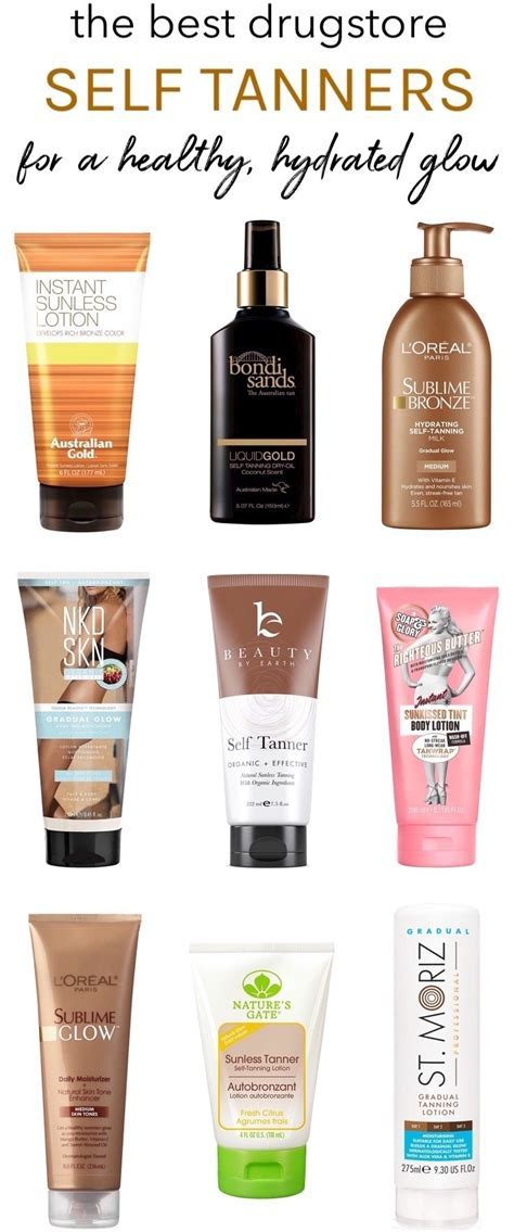 Best Drugstore Self Tanners For a Healthy, Hydrated Glow