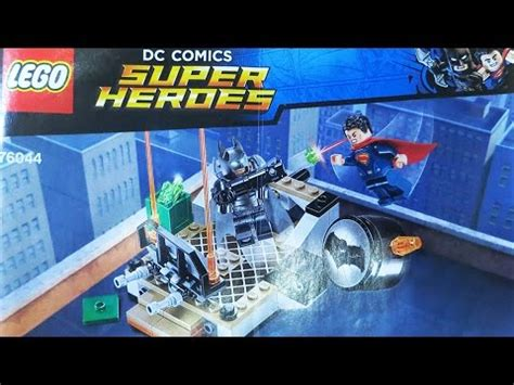 Lego 76044 Dc Comic Heroes Clash Of The Heroes lego 76044 dc comics superheroes clash of the heroes batman v superman review