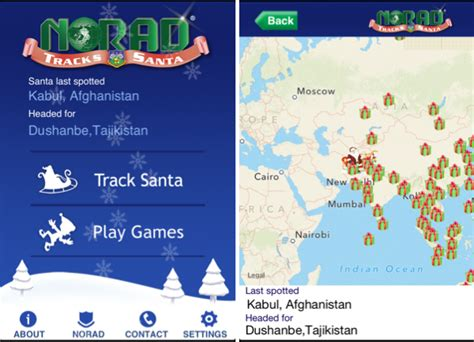 Norad Santa Tracker Phone Number How To Track Santa On On Your Iphone