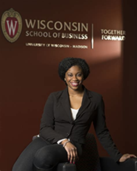 The Consortium Mba Reviews by Consortium Helps Wisconsin Mba Student Achieve Mission Of