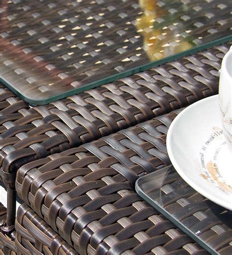 arredo giardino rattan sintetico offerte mobili giardino rattan sintetico