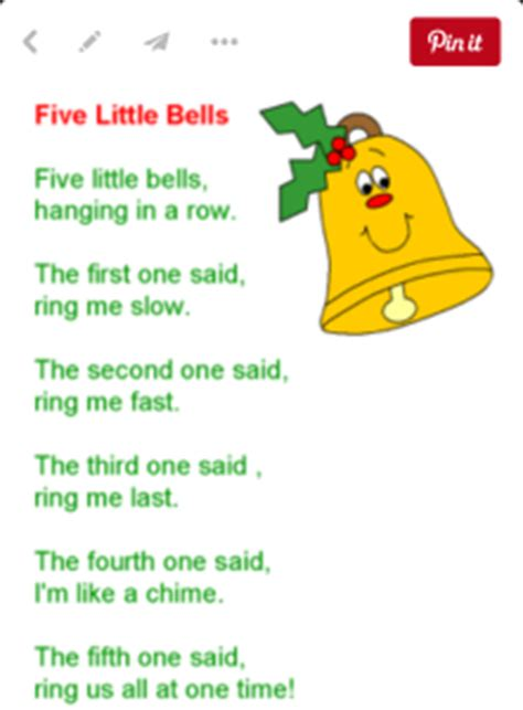 christmas tree songs for kids ten bells ordinal numbers following directions therapy