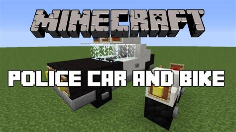 minecraft car that minecraft car and bike tutorial