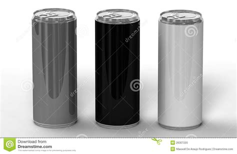 energy drink cans stock illustration image of energetic