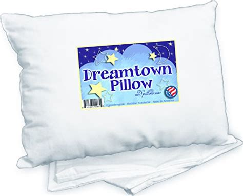 toddler pillow with pillowcase by dreamtown