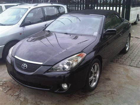 Toyota Solara For Sale In Nigeria Toyota Solara Convertible 2006 Model Available For Sale