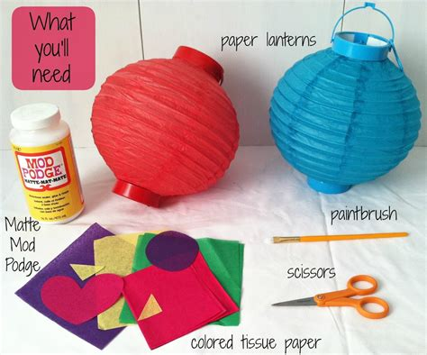 How To Make Lantern From Paper - image gallery japanese paper lantern diy