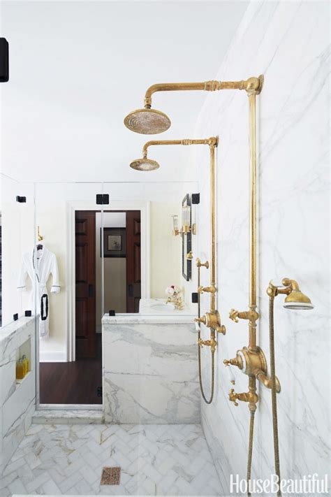 are brass bathroom fixtures out of style 18 gorgeous marble bathrooms with brass gold fixtures