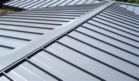 types of metal roofing types of metal roofs