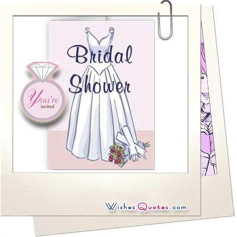 Bridal Shower Qoutes by Bridal Shower Wishes Quotes Quotesgram