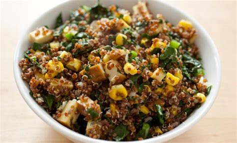 cucina indiana ricette vegetariane insalata depurativa con tofu e quinoa leitv