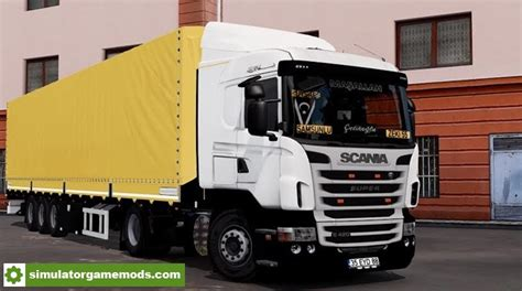 ets 2 scania g420 truck tirsan trailer nazim zeki