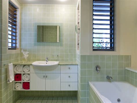 bathroom louvre windows country bathroom design with louvre windows using tiles