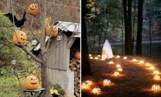 90 cool outdoor halloween decorating ideas digsdigs