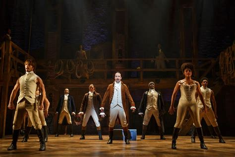 An American Musical Justintheatrereviews24601 The Original Broadway Production Of Quot Hamilton An American Musical