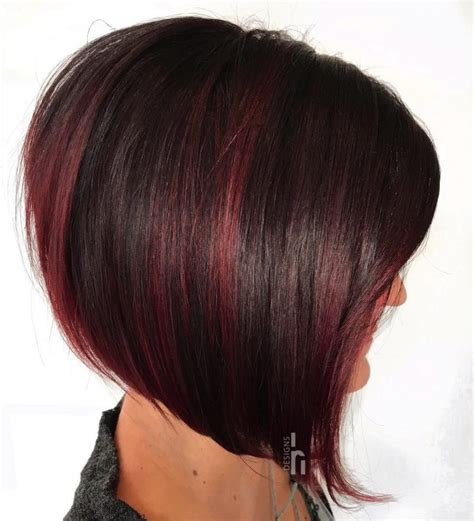 cut your own hair stacked bob 35 short straight hairstyles trending right now updated