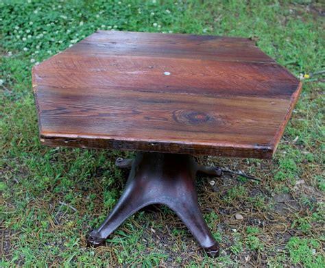 Cast Iron Coffee Table by Coffee Table Handmade Reclaimed Barnwood Cast Iron Legs