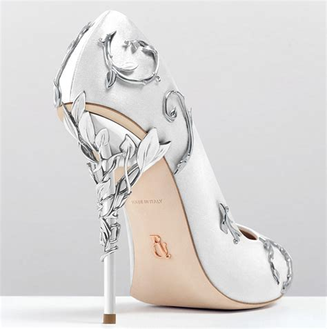 Bridal Pumps by Ralph Russo S Pumps Are Tale Shoes For Brides