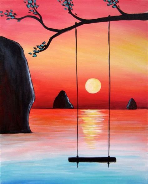 painting ideas easy 1000 ideas about simple canvas paintings on pinterest