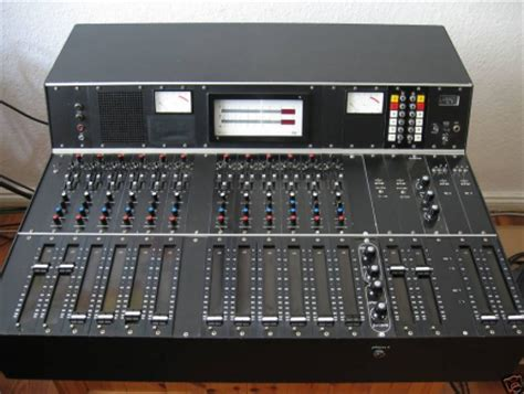 Mixer Audio Beyer vintage rtw telefunken beyer 12 channel mixing console in