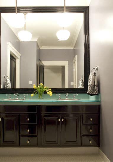 elegant frameless mirror  bedroom contemporary
