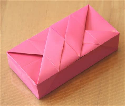 Rectangle Origami - creative creasings clemente giusto s rectangular box
