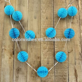 How To Make Tissue Paper Balls To Hang - new design hanging tissue paper honeycomb balls garland