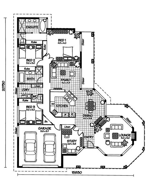 australian house plan the sudbury 171 australian house plans