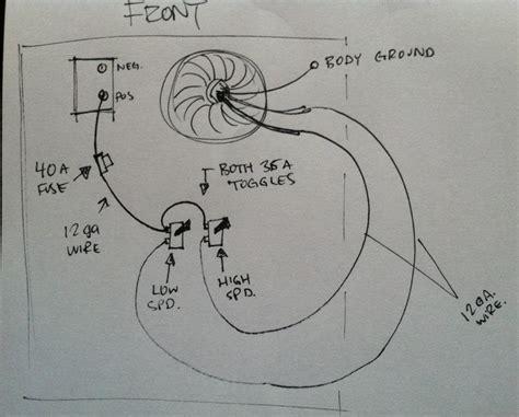 cooling fan wiring diagram 95 mustang 37 wiring diagram