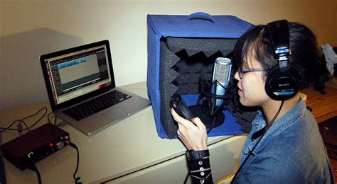 Home Recording Studio Voice Voice Recording In The Home Studio Transom