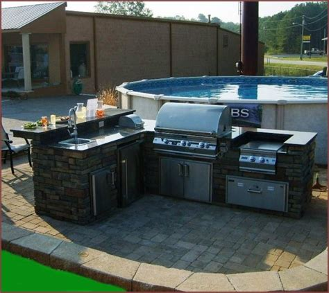 Rolling Kitchen Island Plans by Diy Outdoor Kitchen Grill Home Design Ideas