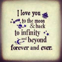 Infinity Saying I You To Infinity And Beyond Quotes Quotesgram