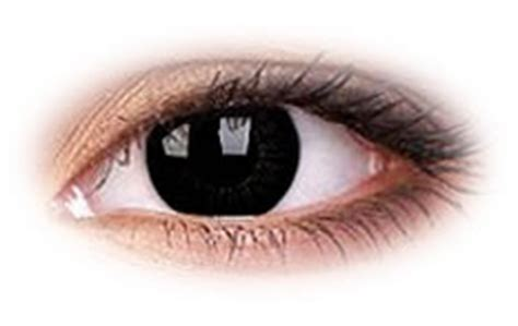 Soflens Scelera Black Big colourvue bigeyes dolly black contact lenses optyk rozmus