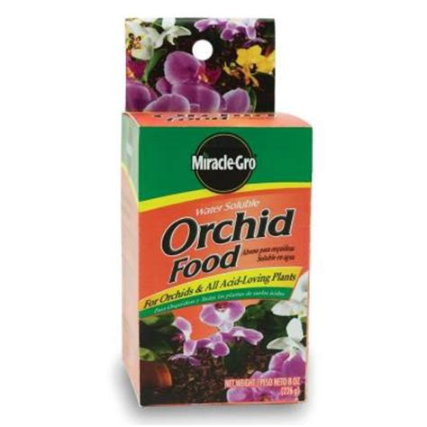 miracle gro 8 oz water soluble orchid plant food 100199