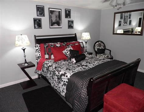 red black and white room ideas download bedroom decorating ideas black and white red