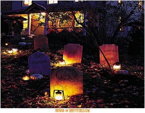 scary front yard decorations diy scary decorations outside 12 snappy pixels