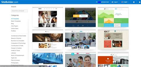 sitebuilder templates sitebuilder review 2017 why 4