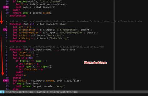github vim tutorial github haya14busa vim debugger vim script debugger