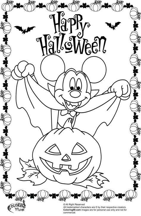 halloween rat coloring pages halloween mickey mouse coloring pages az coloring pages