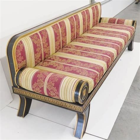 fainting couch for sale regency style ebonized and gilt fainting couch for sale at