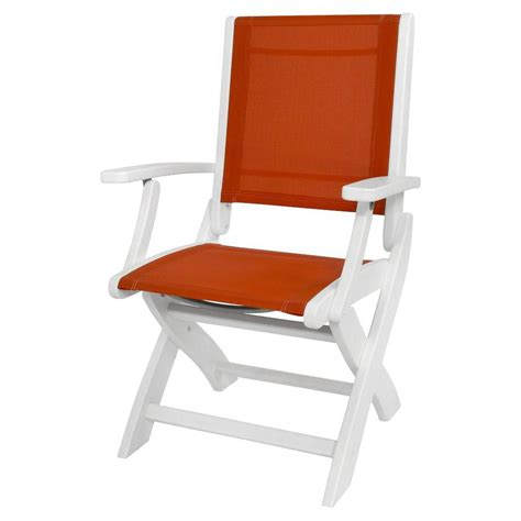 White Sling Patio Chairs by Cosco White Folding Chair Set Of 4 37825wsp4e The Home