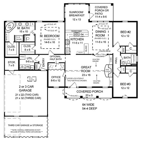 floor plans under 2000 sq ft 2000 square foot house plans 2000 square feet 3 bedrooms 1